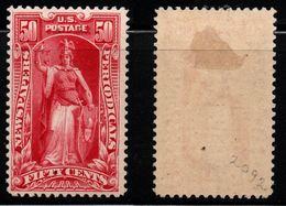 Q914. USA - 1895. SC#: PR107. MH - $2  -  PERIODICAL - NEWSPAPERS STAMP .  SCV:$ 1250.00 ++ - Newspaper & Periodical