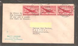 Enveloppe  Oblit    NEW YORK   1946 - Vereinigte Staaten