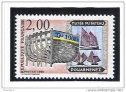 France 2545  Neuf ** (Musée Du Bateau)  -(cote 1,00€) - France