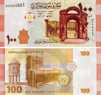 10 Pieces Syria - 100 Pounds 2009 UNC - Siria