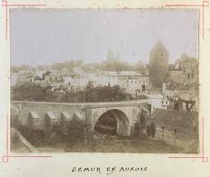 Citrate Vers 1900. Semur-en-Auxois. Vue Générale. - Photos