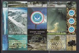 2008 Tajikistan Water Disasters Tornado Avalanche Souvenir Sheet  MNH - Tadjikistan