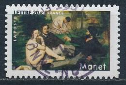 France - Les Impressionnistes - Edouard Manet YT A82 (3874) Obl. Cachet Rond - France