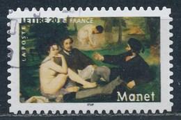 France - Les Impressionnistes - Edouard Manet YT A82 (3874) Obl. Cachet Rond - Adhésifs (autocollants)