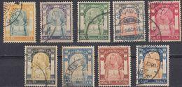 SIAM - 1906 - Serie Completa Composta Da 9 Valori Usati: Yvert 51/59. - Siam