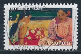 France - Les Impressionnistes - Paul Gauguin YT A83 (3875) Obl. Cachet Rond - Adhésifs (autocollants)