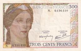 France  300 Francs - 1871-1952 Antichi Franchi Circolanti Nel XX Secolo