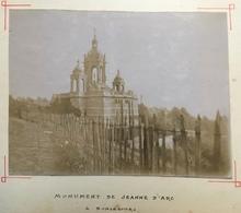 Citrate Vers 1900. Monument De La Jeann D'Arc à Bonsecours. - Photographs