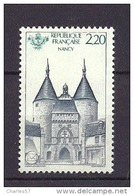 France:n°2419 ** (La Porte De La Craffe) Nancy - Unused Stamps