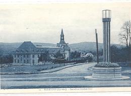 10. EGLETONS . CARREFOUR GRAFOUILLERE . AFFR AU VERSO LE 1-5-1933 . 2 SCANES - Egletons
