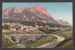 65566/ CORTINA, Dolomitenstrasse, Sorapis, Antelao, Dolomiti - Italia