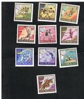URSS -  SG 2467.2475  -  1960   -  OLYMPIC GAMES (COMPLET SET OF 10)   - MINT** - 1923-1991 UdSSR