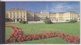 = Carnet Le Château Et Les Jardins De Schönbrunn à Vienne En Autriche C290 état Neuf, Nations Unies Vienne - Carnets