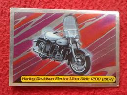 CROMO COLLECTIBLE CARD PANINI MOTO 2000 HARLEY-DAVIDSON ELECTRA ULTRA GLIDE 1200 (1967)  MOTOR MOTOCICLETA MOTORCYCLE - Cromos
