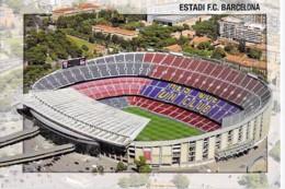 ESPANA Espagne - BARCELONA Barcelone - Estadi Futbol Club ( Stade Stadium Estadio Stadion El Stadio Lo Statio ) CPM GF - Stadien