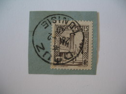 Tunisie Oblitération choisie De Douz Sur Fragment  voir Scan - Tunisia (1888-1955)