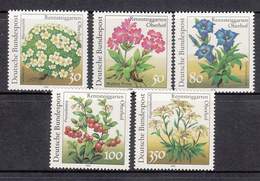 Germany MNH Michel Nr 1505/09 From 1991  / Catw 9.00 EUR - BRD