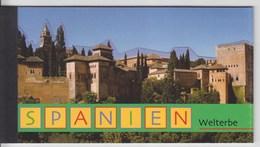 = Carnet Espagne Patrimoine Mondial Grenade Cuenca Ségovie Mérida Toléde Barcelone C335 état Neuf Nations Unies Vienne - Carnets