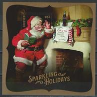 USA. Scott # 5336 MNH S/sheet. Sparkling Holidays Santa 2018 - Estados Unidos