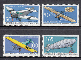 Germany MNH Michel Nr 1522/25 From 1991  / Catw 6.00 EUR - BRD
