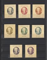 ++ 1985 I.Bach 50 Kop Nominal In Different Colour Thick Paper Colour Proof - Essais & Réimpressions