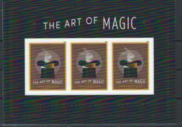 USA. Scott # 5306 MNH S/sheet Of 3 With Transparent Lenticular Overlay. The Art Of Magic 2018 Hard To Find - Números De Placas
