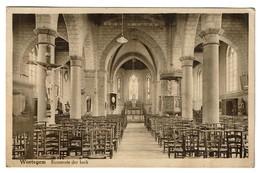 Wortegem - Binnenste Der Kerk - Circulée - Edit. G. Denys - 2 Scans - Wortegem-Petegem