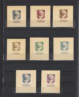 ++ 1958 K.Marx 40 Kop Nominal In Different Colour Thick Paper Colour Proof - Essais & Réimpressions