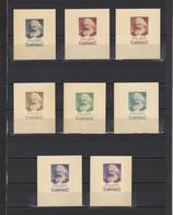 ++ 1958 K.Marx 60 Kop Nominal In Different Colour Thick Paper Colour Proof - Essais & Réimpressions