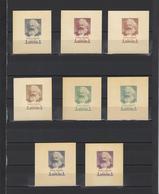 ++ 1958 K.Marx 1 Rub Nominal In Different Colour Thick Paper Colour Proof - Essais & Réimpressions