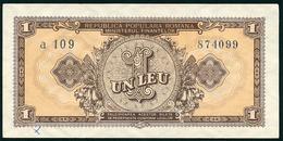 Banknote -1 Leu 1952 -Romania - Romania