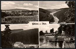 C5925 - Gehren - Freibad Schwimmbad - Schobsemühle Mühle - Dick Verlag - Gehren