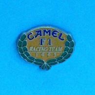 1 PIN'S //  ** CAMEL F1 / RACINGTEAM / 1993 ** - F1