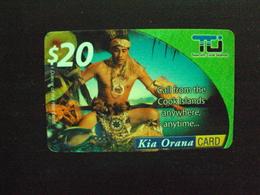 Carte Prépayée: îles Cook ,Kia Orana Card 20 Dollards - Cook Islands