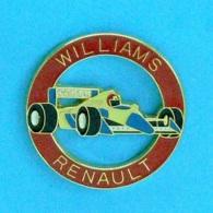 1 PIN'S //  ** F1 WILLIAMS RENAULT / CANON / CAMEL ** .  (© Qualité Collectors Série Limité) - F1
