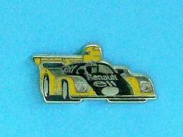 1 PIN'S //  ** ULTIME PROTOTYPE / ELF RENAULT ALPINE / 1973-1978 / L'A443 LE MANS / PILOTES JABOUILLE-DEPAILLER ** - Renault