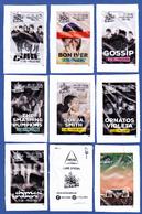 Cafés Delta, Portugal 2019 - Nos Alive / Série Complète 8 Sachets Vides - Sugars