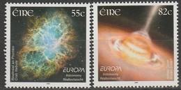 Irlande Europa 2009 N° 1895/ 1896 ** Astronomie - Europa-CEPT