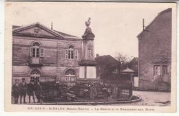 52 - Biesles - Mairie Et Monument-aux-morts - Autres Communes