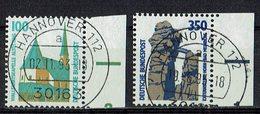 BRD 1989 // Mi. 1406/1407 A O Rand - BRD