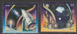 Lettonie Europa 2009 N° 728/ 729 ** Astronomie - Europa-CEPT