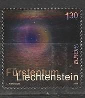 Liechtenstein Europa 2008 N° 1411 **  Ecriture Lettre - 2008