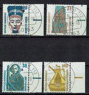 BRD 1989 // Mi. 1398/1401 A O Rand - BRD