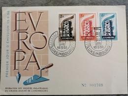 Luxembourg, Série Europa 1956 - Luxemburg