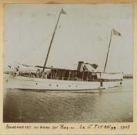 """Gard . Aigues-Mortes Au Grau-du-Roi . Bateau Le """"Titan"""" 1903 . - Bateaux"""