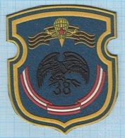 BELARUS / Patch Abzeichen Parche Ecusson / Army. Special Forces. Vienna 38 Airborne Brigade .Parachute . - Blazoenen (textiel)