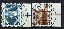 BRD 1988 // Mi. 1347/1348 A O Rand - BRD