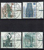 BRD 1987 // Mi. 1339/1342 A O Rand - BRD