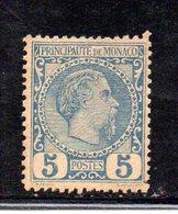 APR1694 - MONACO 1885 , Unificato N. 3 *  Linguellato.  (2380A) - Neufs
