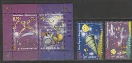 Montenegro Europa 2009 N° 217/ 218 Et BF N° 8 ** Astronomie - Europa-CEPT